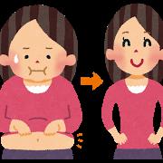 肌荒れをなくしながらダイエットでも結果が出た女性のビフォア・アフタ画像