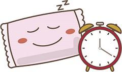 ぐっすり睡眠がとれているイメージ