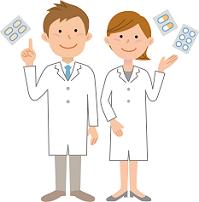 医者と薬剤師