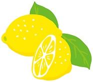 ビタミンCが豊富に配合されているレモンの画像
