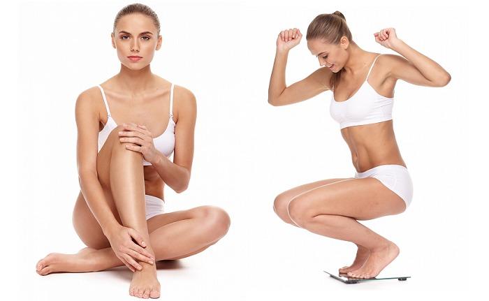 美容体重を維持している外人モデル画像
