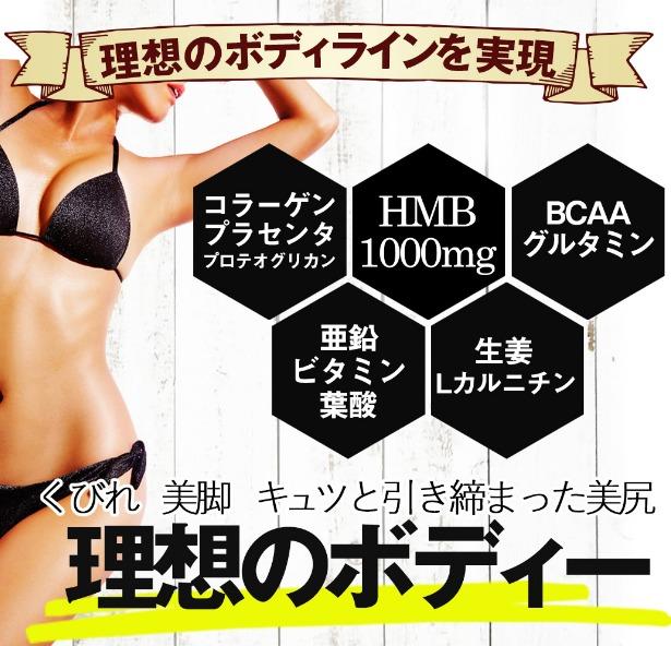燃焼系ダイエットサプリのビューティーラインHMB割引購入ページへ