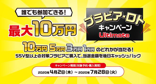 ブラビア・ロトキャンペーン Ultimate